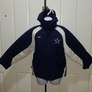 Big kids Dallas Cowboys winter jacket